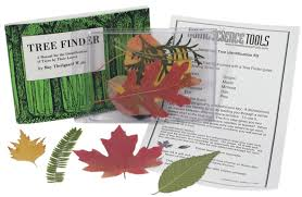 tree leaf identification kit comes with 10 leaves