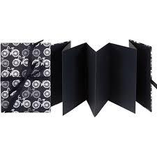 Photo Album With Black Pages Lineco Accordion Album With Black Pages U0026 Bbhk113 21 B U0026h