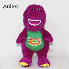 cartoon barney friends dinosaur 30 20cm plush dolls soft