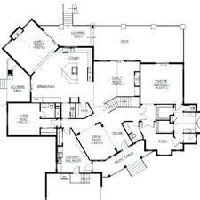 luxury kitchen floor plans house planss country style luxury home with open concept kitchen and