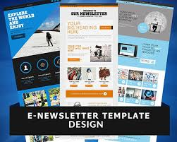 e newsletter template design by wonderart on envato studio