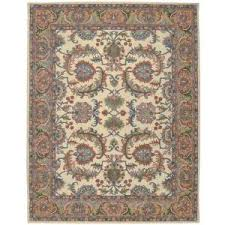 Area Rugs From India Nourison India House Ivory Gold 5 Ft X 8 Ft Area Rug 338471
