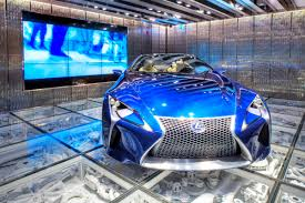 lexus electric supercar greenwich village