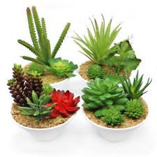 mini plants mini artificial plants potted fake plastic green plants with pot for