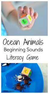 ocean animal reading game preschool reading game