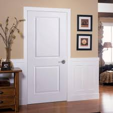 reliabilt prehung hollow core flush birch interior door common 28 in