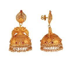 kerala style earrings jos alukkas jewellery alukkas jewellery alukkas gold