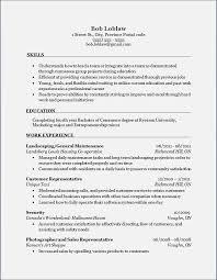 Marketing Major Resume Relevant Skills Resume Cbshow Co