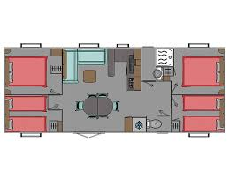 mobil home 4 chambres mobil home neuf trigano evolution 40 4 chambres vente mobil