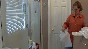 how to clean bathroom shower doors home interior design