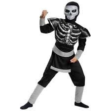 Karate Kid Skeleton Costume Boys U0027 Ninja Costumes Ebay