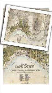 Paper Town Map 1909 Cape Peninsula Vintage Map Mapstudio