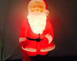 plastic santa light etsy