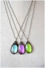 crystal necklace designs images Vintage crystal necklace pamelab designs jpg