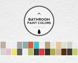 bathroom color ideas palette and paint schemes home tree atlas
