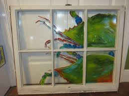 69 best hand painted windows images on pinterest hand painted