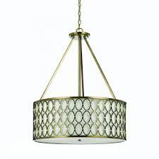 Drum Pendant Lighting Drum Pendant Lighting Home Lighting Insight
