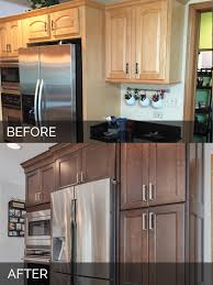 Before And After Kitchen Remodels by Sue U0026 Russell U0027s Kitchen Before U0026 After Pictures Home Remodeling