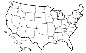 United States Map Template by State Coloring Map By Leeanix On Deviantart