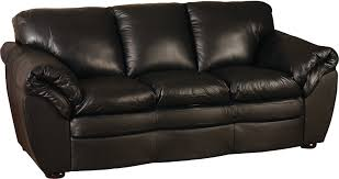 Low Leather Chair Black 100 Genuine Leather Sofa The Brick