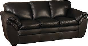black 100 genuine leather sofa the brick