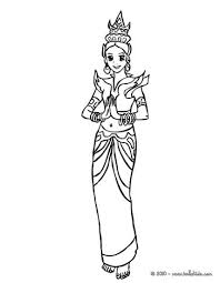 aztec princess coloring pages hellokids