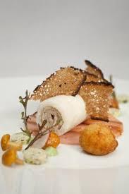 lapin de cuisine rillette de lapin cromesquis de foie gras picture of le pont de