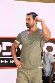 john abraham abraham graces body power expo in mumbai