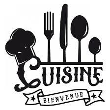 logo de cuisine stickers bienvenue dans ma cuisine stickers malin
