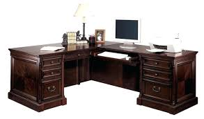 executive l shaped desk mount view executive l desk with right return in cherry finish executive executive l shaped desk