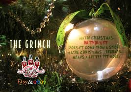 the grinch bauble available at https www etsy uk shop
