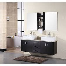 design element contemporary double sink bathroom vanity with