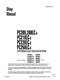 komatsu pc200 6 shop manual