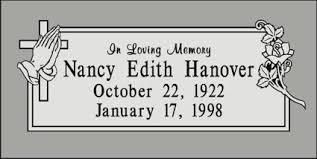 grave marker designs single cemetery headstone gravestone monument cemetery marker