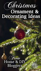 diy ornament and decorating ideas the six fix