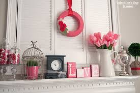 Decorate Mantel For Valentines Day craftaholics anonymous valentine decor my valentine u0027s day mantel