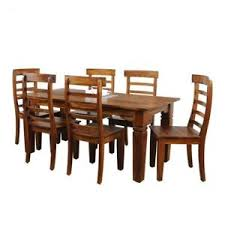 6 seater dining table and chairs malcolm solid wooden 6 seater dining table set natural ebay