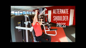 cheap gym bracknell kinesis overhead press station exercises