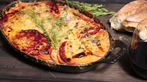 A Root Vegetable - how to make a root vegetable gratin sunset youtube
