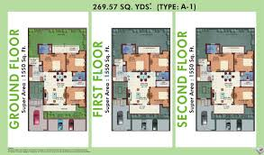 m2k the white house in sector 57 gurgaon project overview unit 3 bhk 1550 sq ft ind floor floor plan