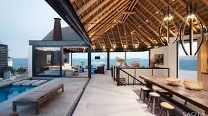 vacation home designs home designs amazing outdoor spaces thatched roof house