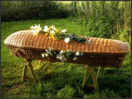 wicker casket coffins collection arthur c towner ltd funeral directors