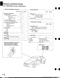 honda civic 1999 6 g workshop manual