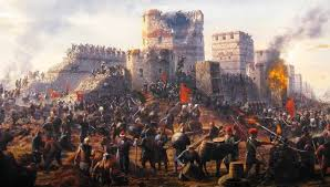 Constantinople Ottoman Empire Nifty Animation Presents The Fall Of Constantinople In 1453 Ad