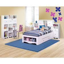 Children Beds Eco Friendly 2 Drawer Twin Size Storage Bed Walmart Com