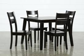 small espresso dining table small dining room table sets 5 piece espresso square dining set