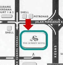 map usj 2 summit hotel subang usj kuala lumpur malaysia free n easy