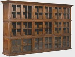 Solid Wood Bookcases With Glass Doors The About Solid Wood Bookcase With Glass Doors Is