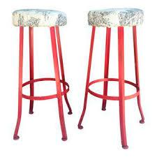vintage u0026 used shabby chic bar stools chairish