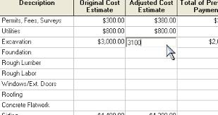 build a house estimate construction estimating software free cost estimate spreadsheet